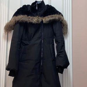 Sicily black winter coat